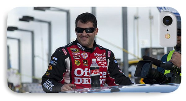 Tony Stewart 20 Introduction IPhone Case