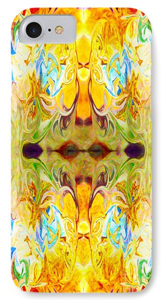 Tony's Tower Abstract Pattern Artwork By Tony Witkowski Phone Case by Omaste Witkowski