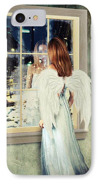 Too Cold For Angels IPhone Case by Linda Lees