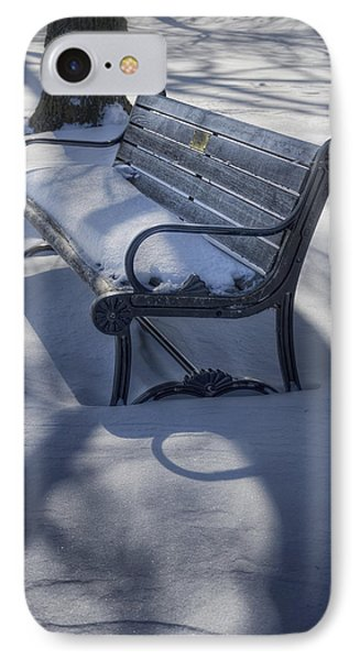 Too Cold To Contemplate IPhone Case by Joan Carroll