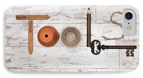 Tools IPhone Case by Amanda Elwell
