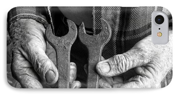 Tools Used All His Life IPhone Case