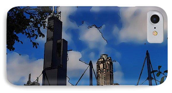 Toon Chicago IPhone Case