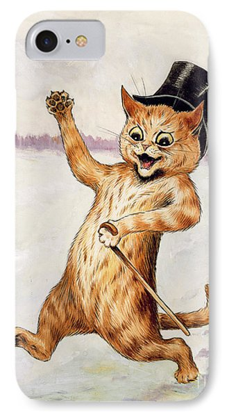Top Cat IPhone Case by Louis Wain