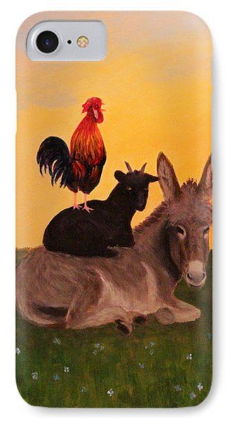 IPhone Case featuring the painting Top O The Morning by Janet Greer Sammons