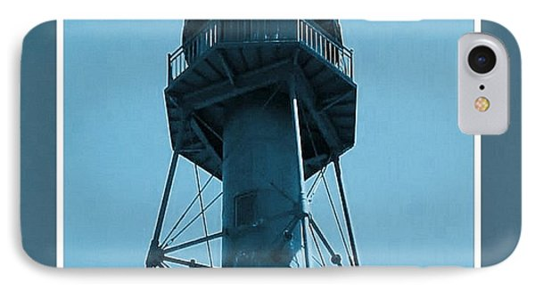 IPhone Case featuring the photograph Top Of Sanibel Island Lighthouse by Janette Boyd