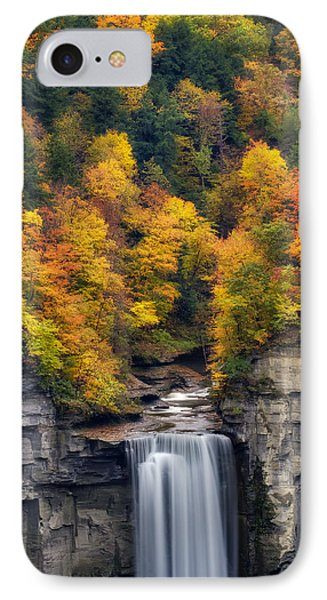 Top Of The Falls Phone Case by Mark Papke