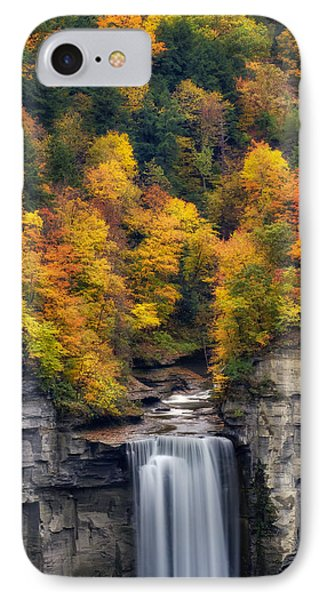 Top Of The Falls IPhone Case by Mark Papke