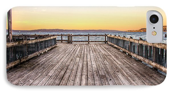 Top Of The Ocean Pier IPhone Case by Rob Green