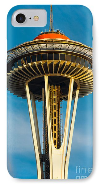 Top Of The Space Needle Phone Case by Inge Johnsson