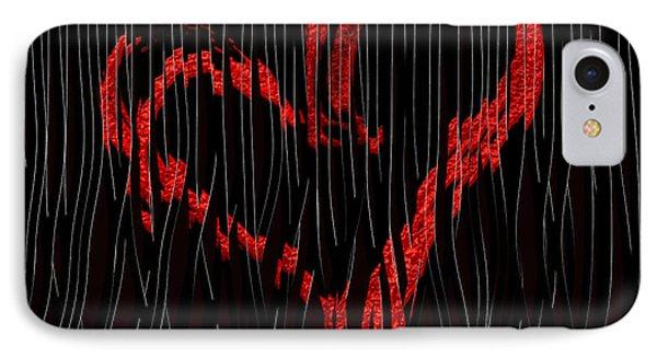 IPhone Case featuring the digital art Top Secret... by Tim Fillingim