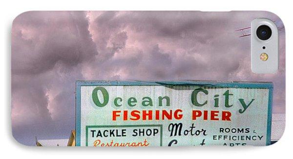 Topsail Island 1996 Ocean City IPhone Case by Betsy Knapp