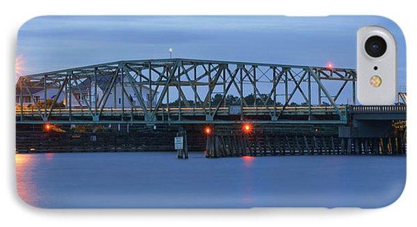 Topsail Island Bridge IPhone Case