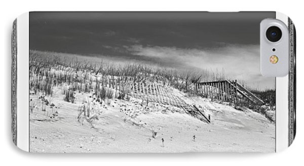Topsail Island Day Of The Dunes  IPhone Case by Betsy Knapp
