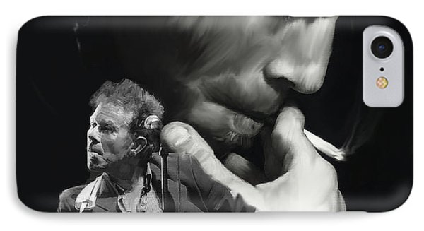 Torn Pages Tom Waits  IPhone Case