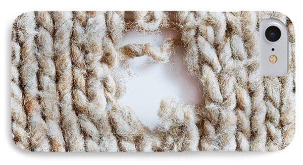 Torn Wool IPhone Case by Tom Gowanlock