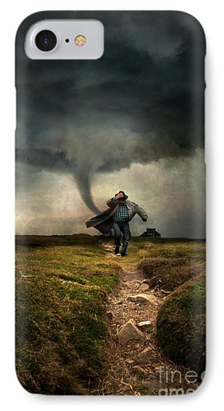 Tornado IPhone Case by Jaroslaw Blaminsky