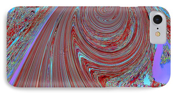 Tornado Spiral Abstract Graphic Digital Signature Art By Navinjoshi Unique Digital Graphic File Avai IPhone Case