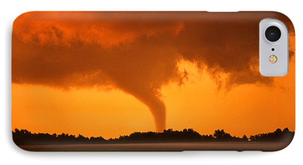 Tornado Sunset IPhone Case by Jason Politte