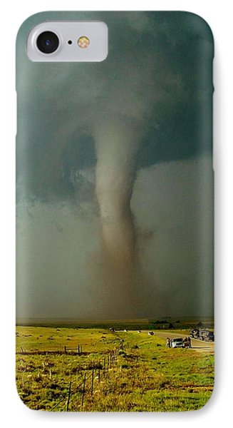 Tornado Truck Stop II IPhone Case