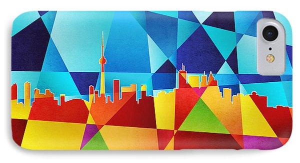 Toronto Canada Skyline Phone Case by Michael Tompsett