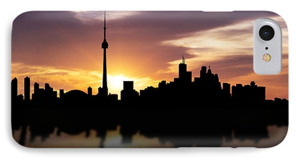 Toronto Canada Sunset Skyline  IPhone Case