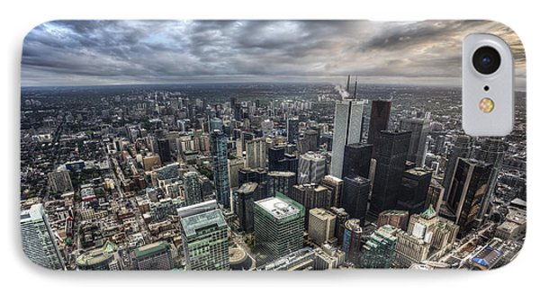 Toronto Daybreak IPhone Case by Shawn Everhart