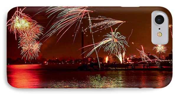 Toronto Fireworks Phone Case by Elena Elisseeva
