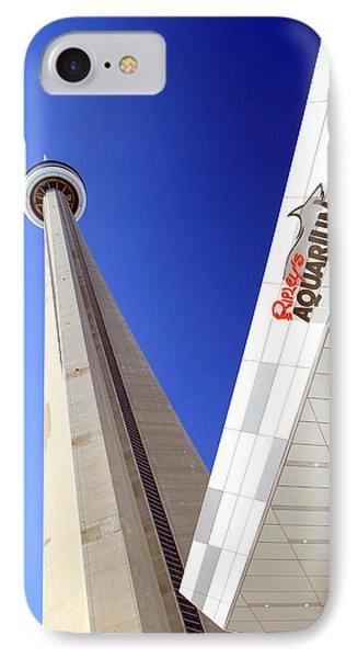 Toronto Landmarks Phone Case by Valentino Visentini