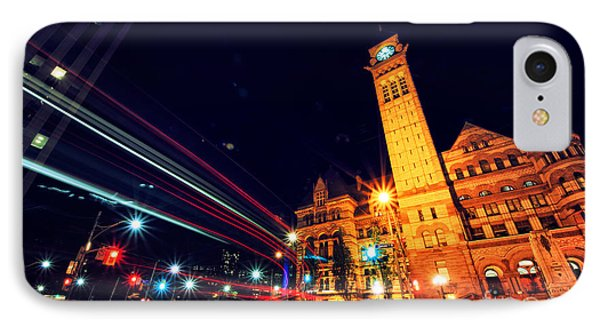 Toronto Old City Hall IPhone Case by Charline Xia