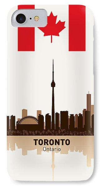 Toronto Ontario Canada Phone Case by Daniel Hagerman