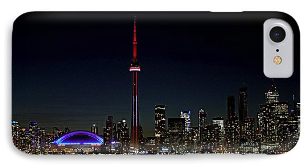 Toronto Skyline At Night IPhone Case