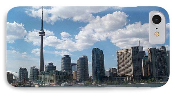 IPhone Case featuring the photograph Toronto Skyline by Barbara McDevitt