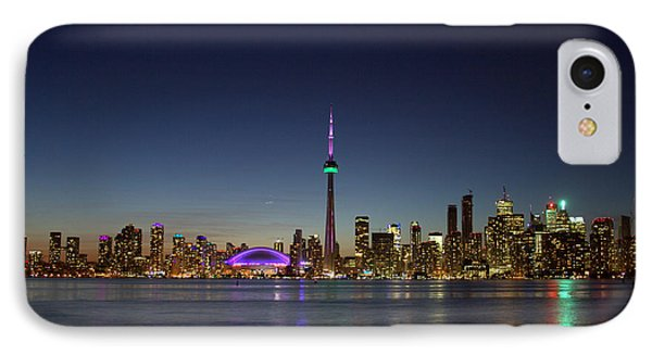 Toronto Skyline Colours IPhone Case
