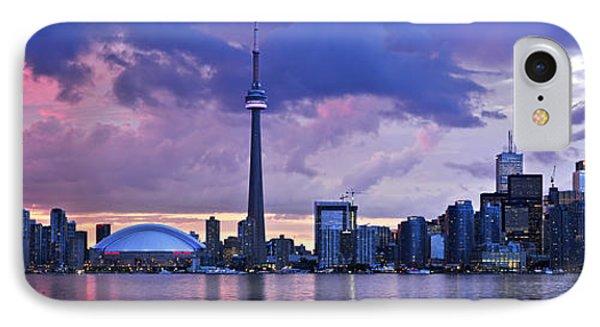 Architecture iPhone 7 Case - Toronto Skyline by Elena Elisseeva