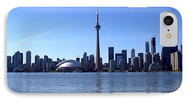 Toronto Skyline Panorama IPhone Case