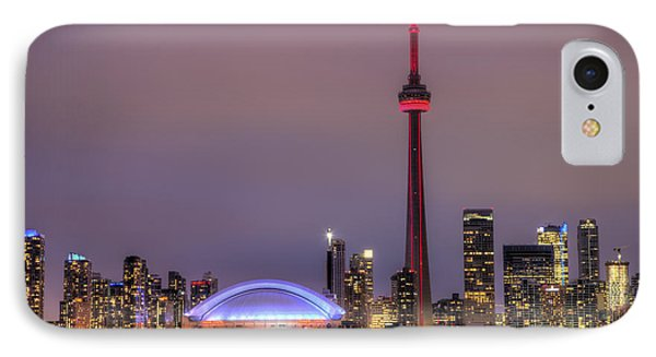 Toronto Skyline IPhone Case by Shawn Everhart