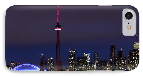 Toronto Skyline IPhone Case
