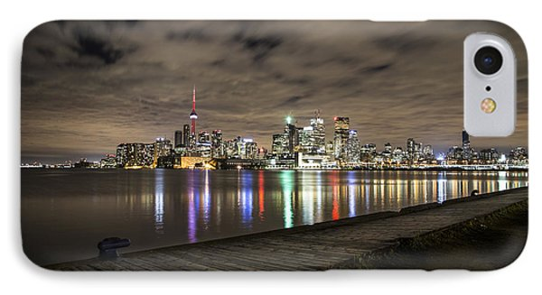 Toronto Sunset IPhone Case by John McGraw