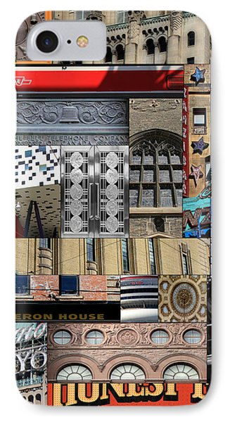 Toronto Textures 1 Phone Case by Andrew Fare