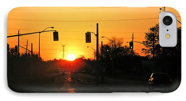 Toronto - Urban Sunset IPhone Case by Phil Banks