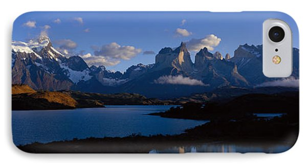 Torres Del Paine, Patagonia, Chile IPhone Case by Panoramic Images