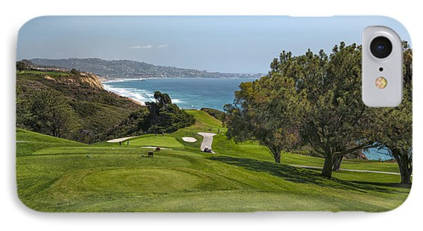 Torrey Pines Golf Course North 6th Hole IPhone 7 Case