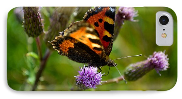 Tortoise Shell Butterfly IPhone Case