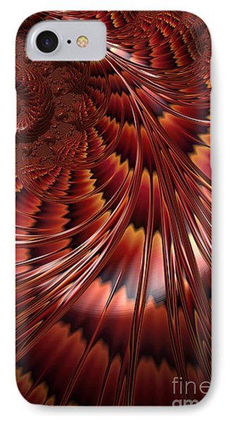 Tortoiseshell Abstract IPhone Case by John Edwards