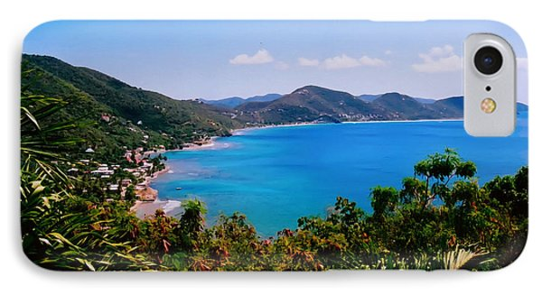 IPhone Case featuring the digital art Tortola Bay by Kara  Stewart