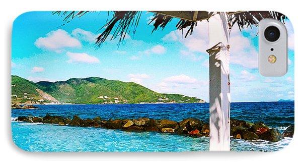 IPhone Case featuring the digital art Tortola Cabana by Kara  Stewart