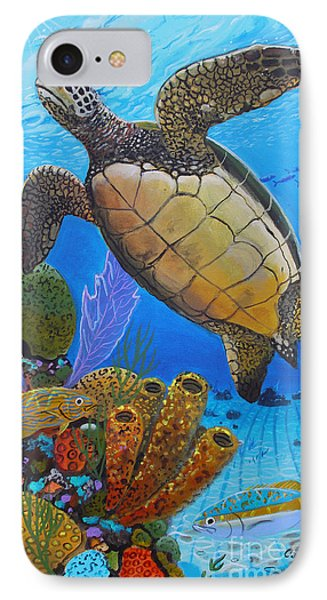 Tortuga IPhone Case by Carey Chen