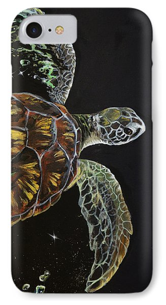 Tortuga Phone Case by Marco Antonio Aguilar