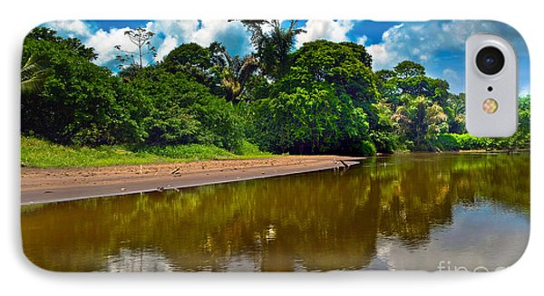Tortuguero River Canals Phone Case by Gary Keesler